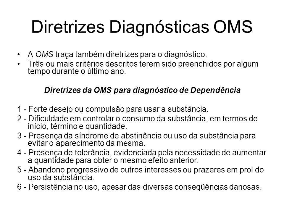 Diretrizes Diagnósticas OMS
