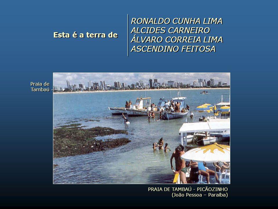 RONALDO CUNHA LIMA ALCIDES CARNEIRO ÁLVARO CORREIA LIMA