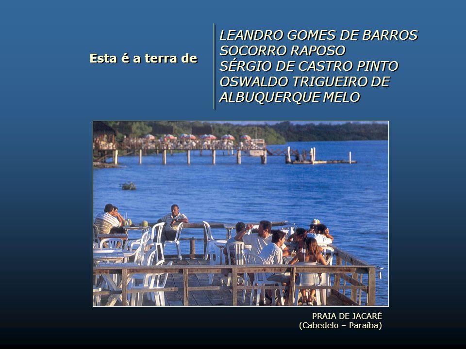 LEANDRO GOMES DE BARROS SOCORRO RAPOSO SÉRGIO DE CASTRO PINTO