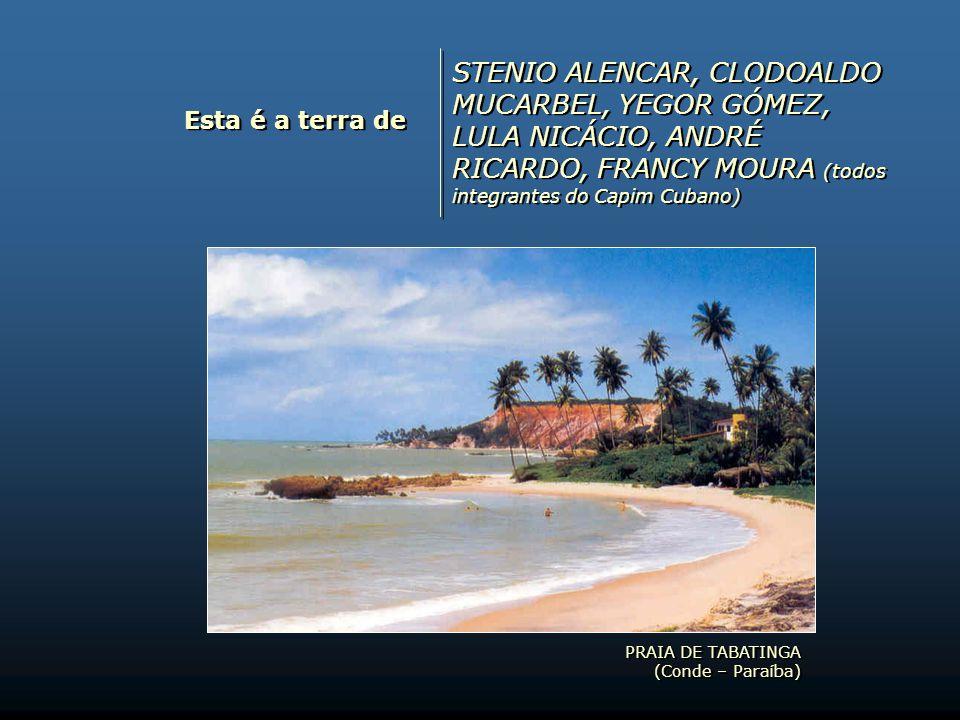 STENIO ALENCAR, CLODOALDO MUCARBEL, YEGOR GÓMEZ, LULA NICÁCIO, ANDRÉ RICARDO, FRANCY MOURA (todos integrantes do Capim Cubano)