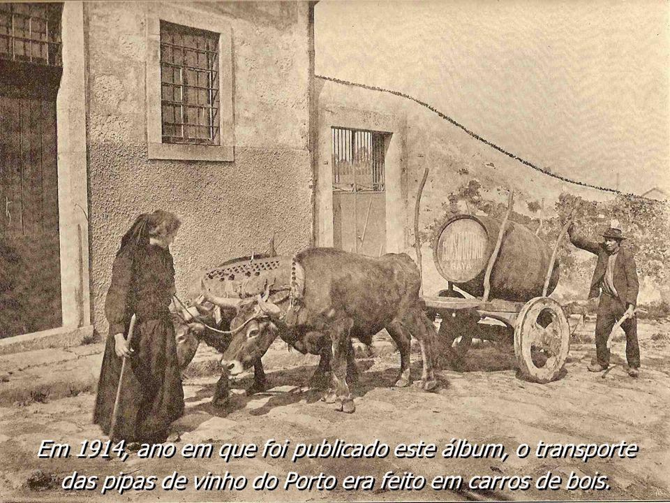 Em 1914, ano em que foi publicado este álbum, o transporte
