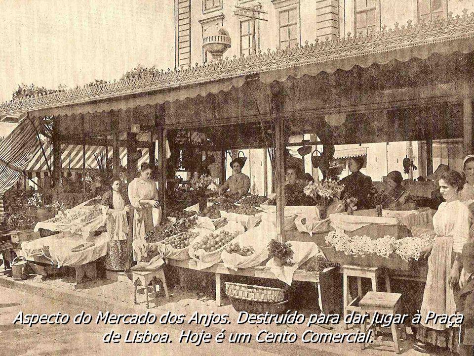 Aspecto do Mercado dos Anjos
