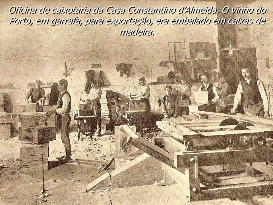 Oficina de caixotaria da Casa Constantino d'Almeida