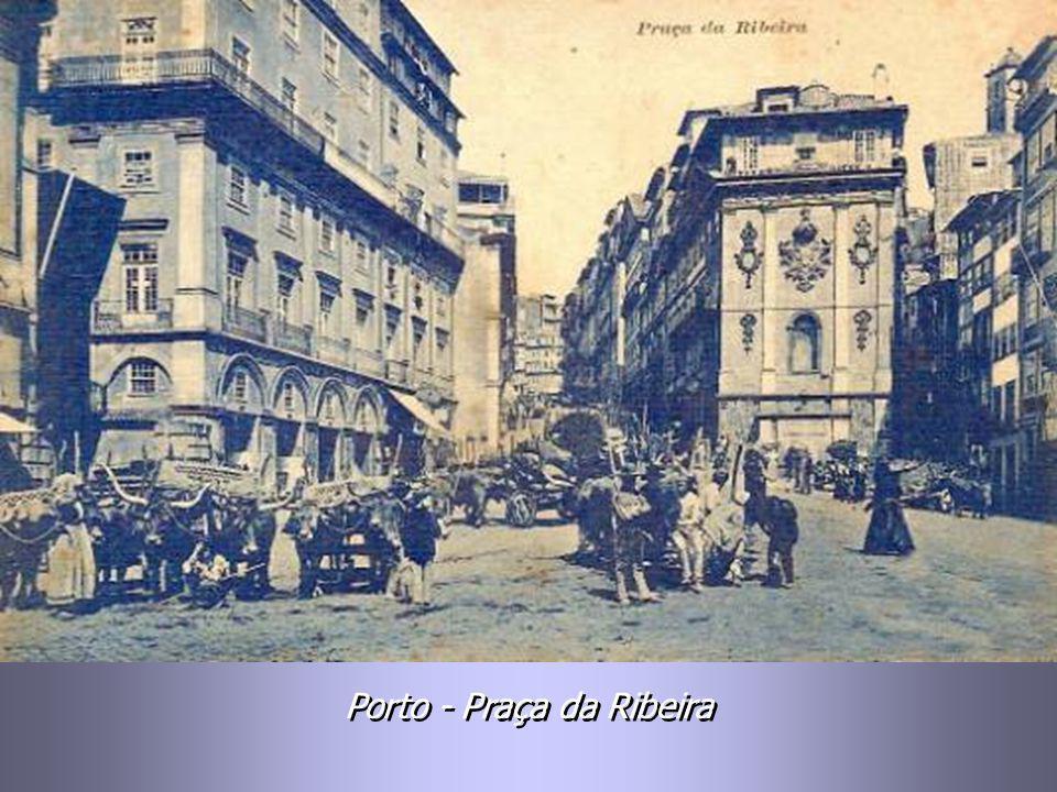 Porto - Praça da Ribeira