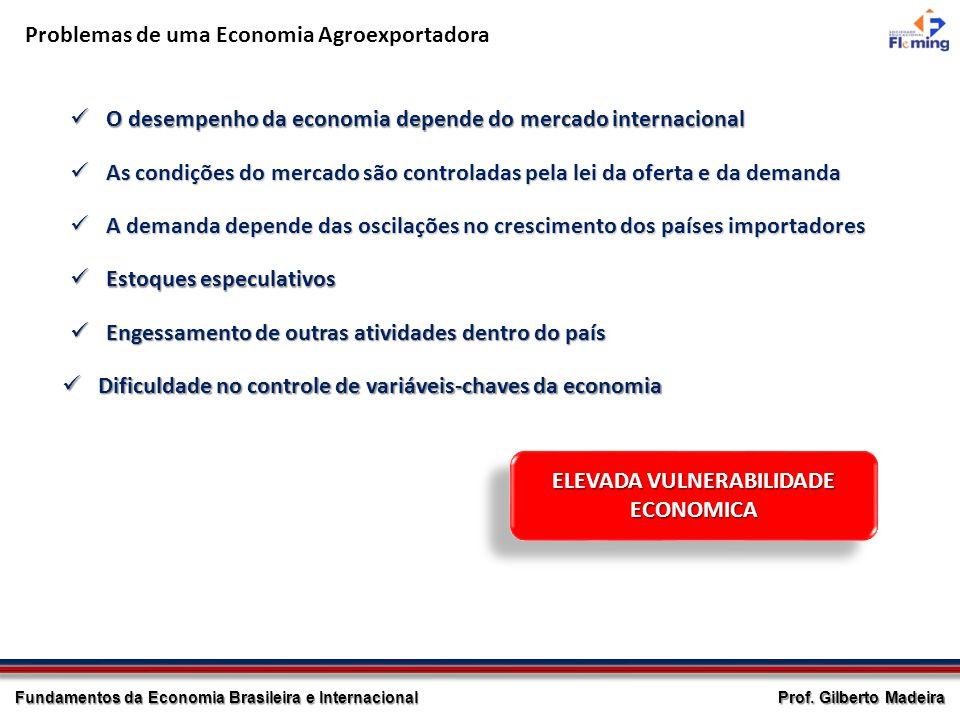 ELEVADA VULNERABILIDADE ECONOMICA