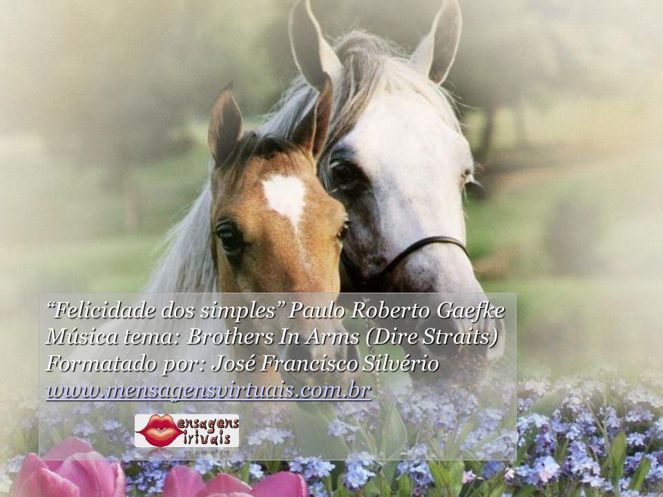 Felicidade dos simples Paulo Roberto Gaefke