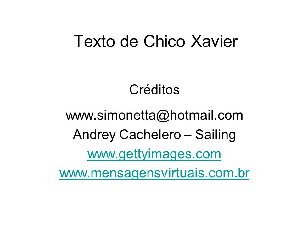 Andrey Cachelero – Sailing