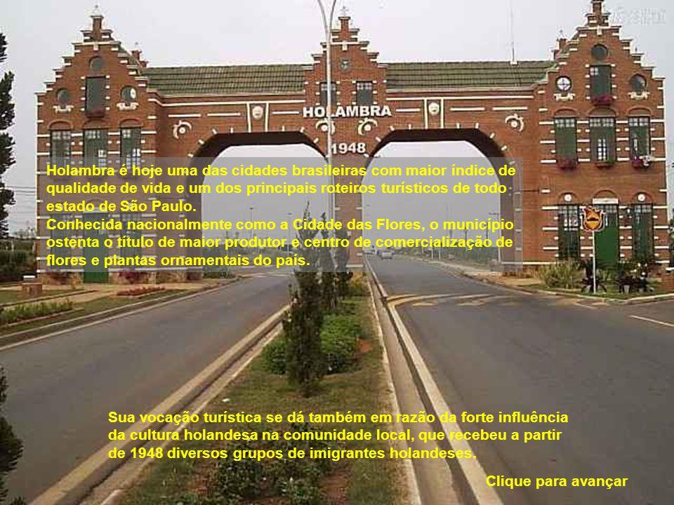 Holambra é hoje uma das cidades brasileiras com maior índice de