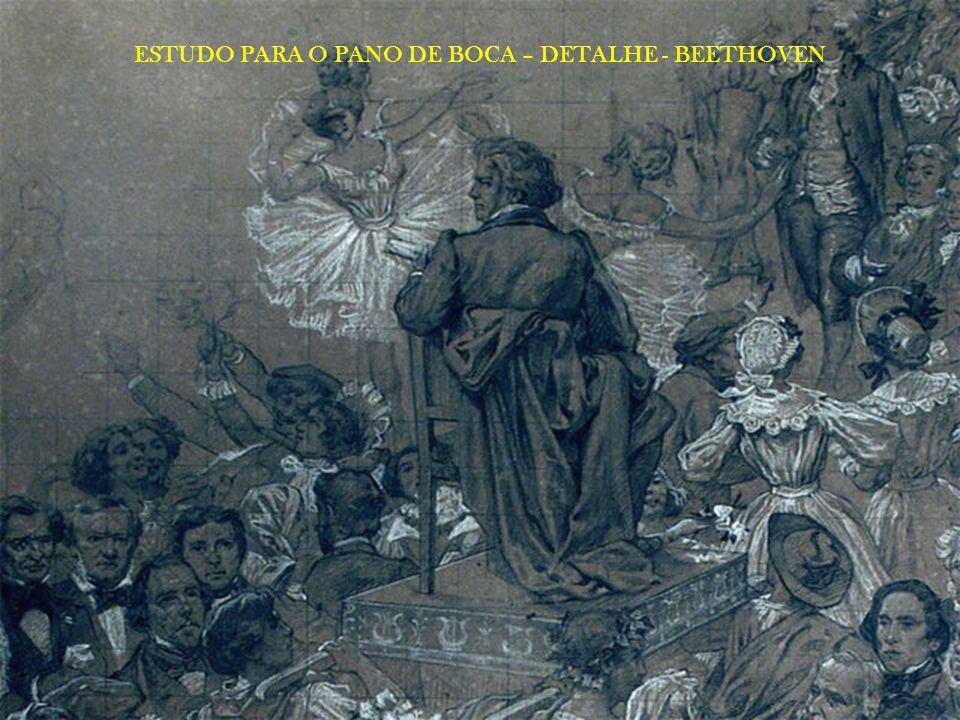 ESTUDO PARA O PANO DE BOCA – DETALHE - BEETHOVEN