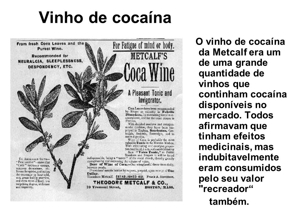 Vinho de cocaína