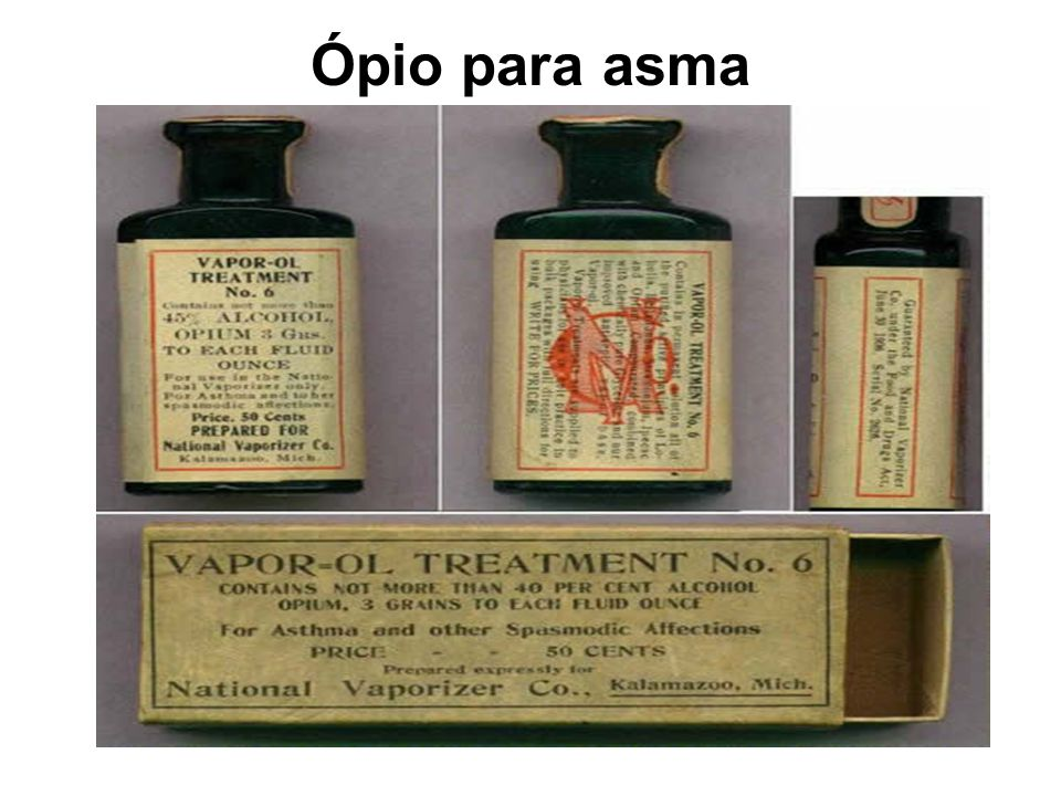 Ópio para asma