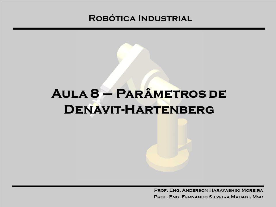 Aula 8 – Parâmetros de Denavit-Hartenberg