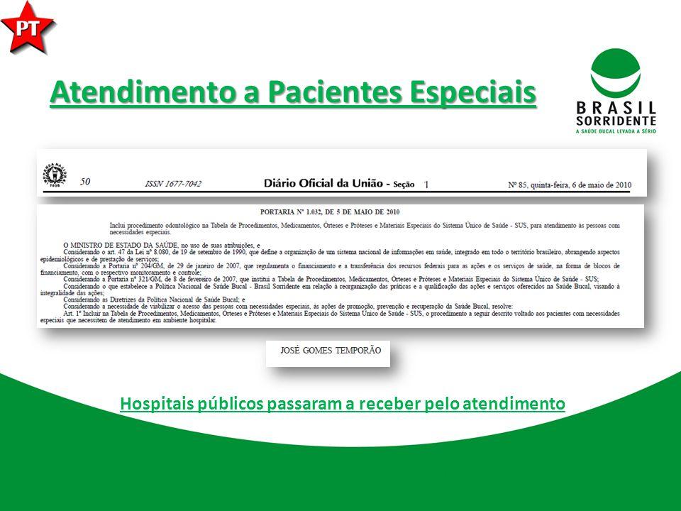 Atendimento a Pacientes Especiais