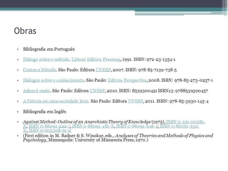 Obras Bibliografia em Português