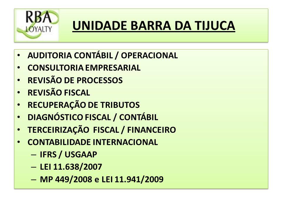 UNIDADE BARRA DA TIJUCA