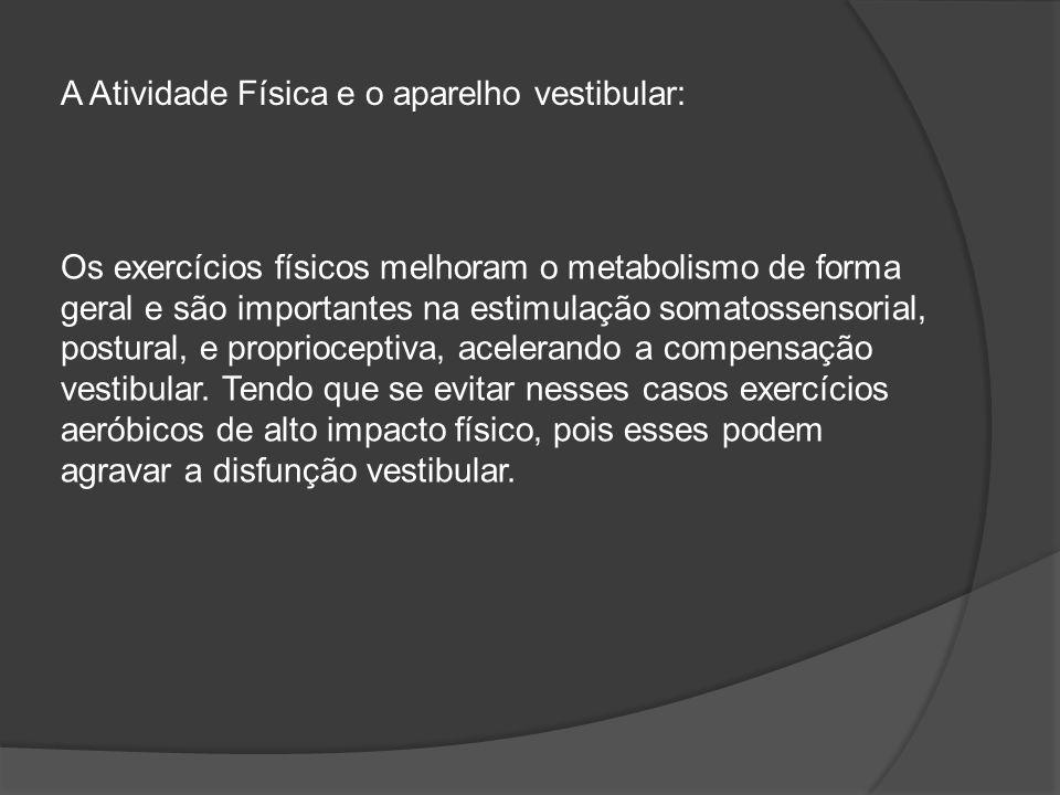 A Atividade Física e o aparelho vestibular: