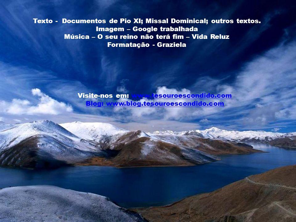 Texto - Documentos de Pio XI; Missal Dominical; outros textos.