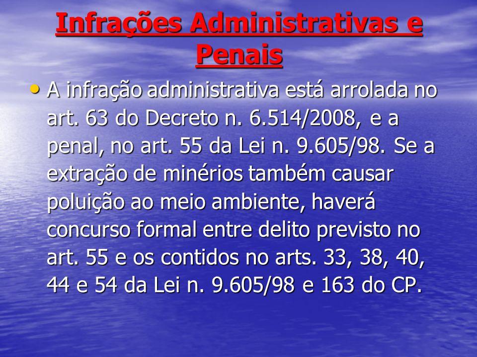 Infrações Administrativas e Penais
