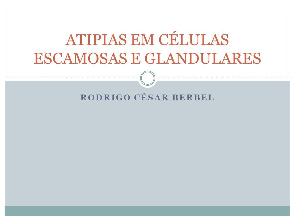 ATIPIAS EM CÉLULAS ESCAMOSAS E GLANDULARES