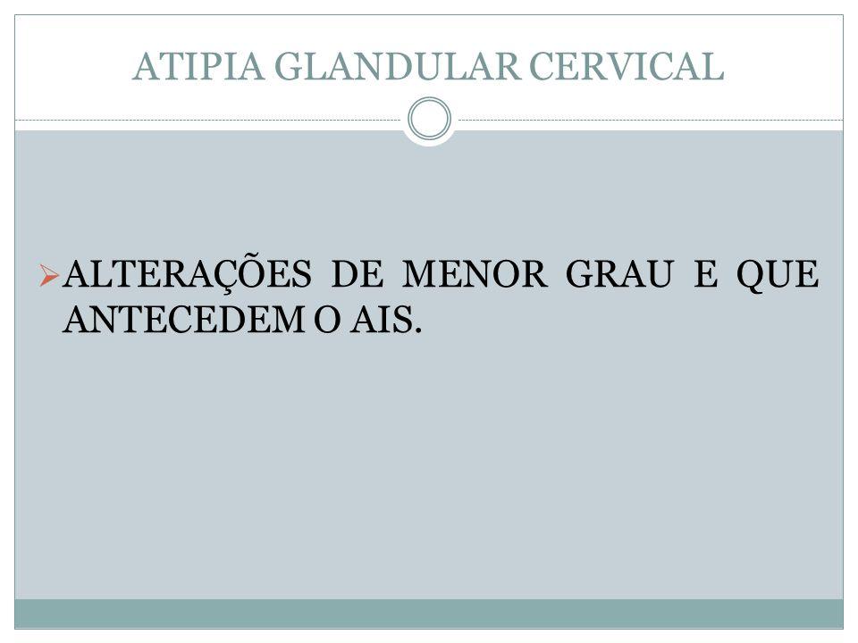 ATIPIA GLANDULAR CERVICAL