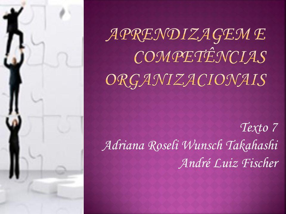 Aprendizagem e Competências Organizacionais