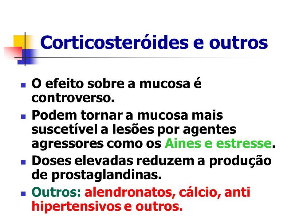 Corticosteróides e outros