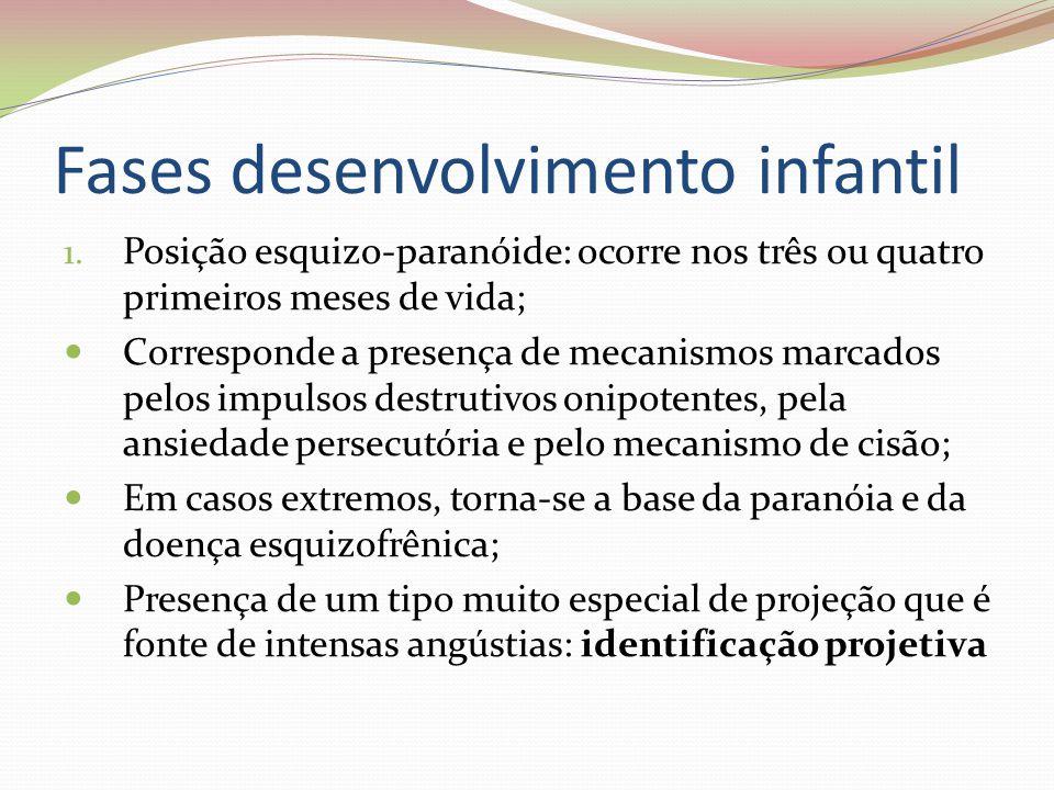 Fases desenvolvimento infantil