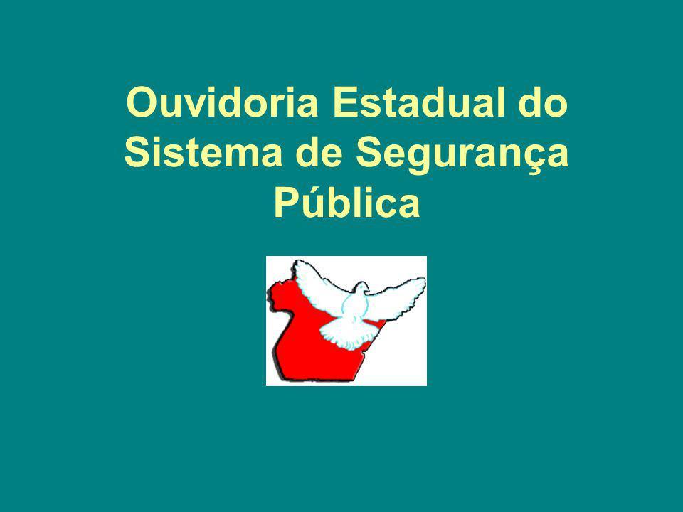 Ouvidoria Estadual do Sistema de Segurança Pública