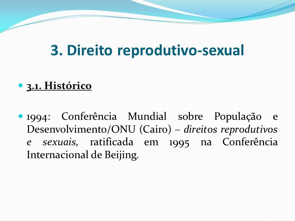 3. Direito reprodutivo-sexual