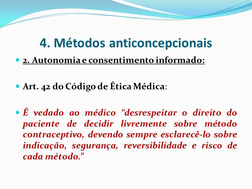 4. Métodos anticoncepcionais