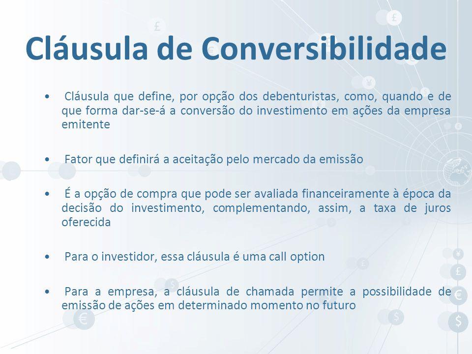 Cláusula de Conversibilidade