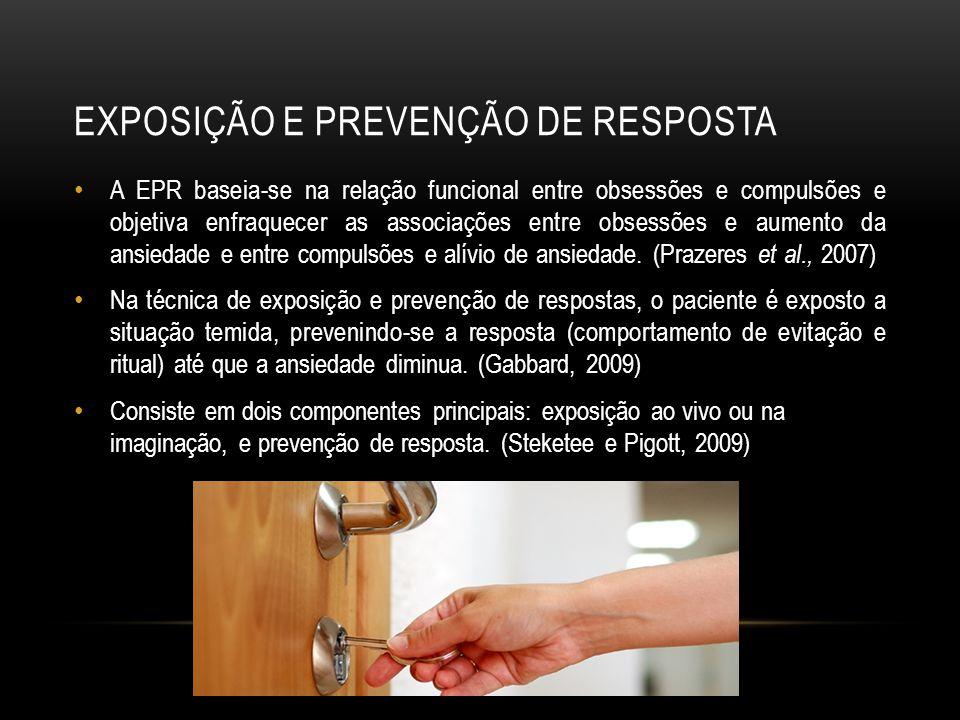Exposição e prevenção de resposta