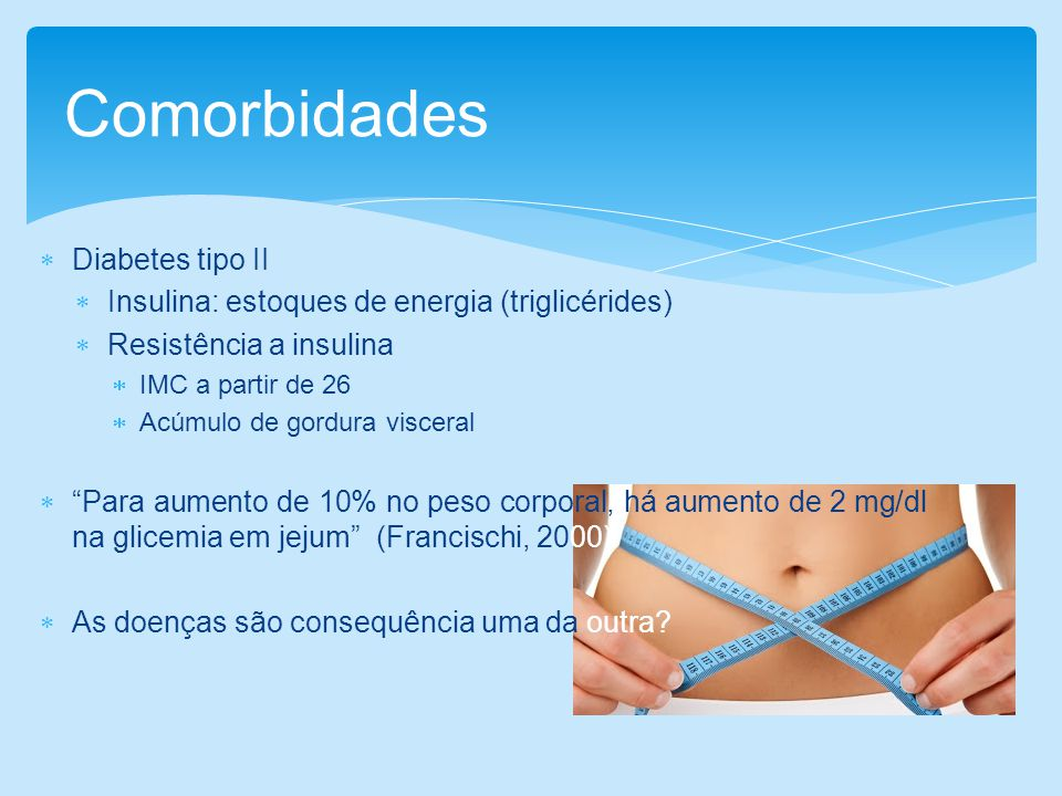Comorbidades Diabetes tipo II