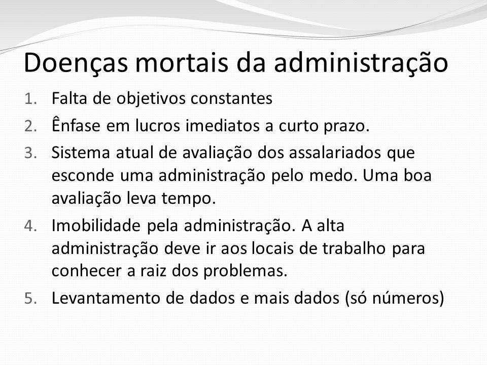 Doenças mortais da administração