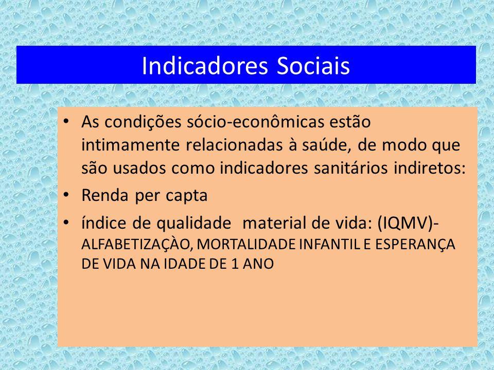 Indicadores Sociais