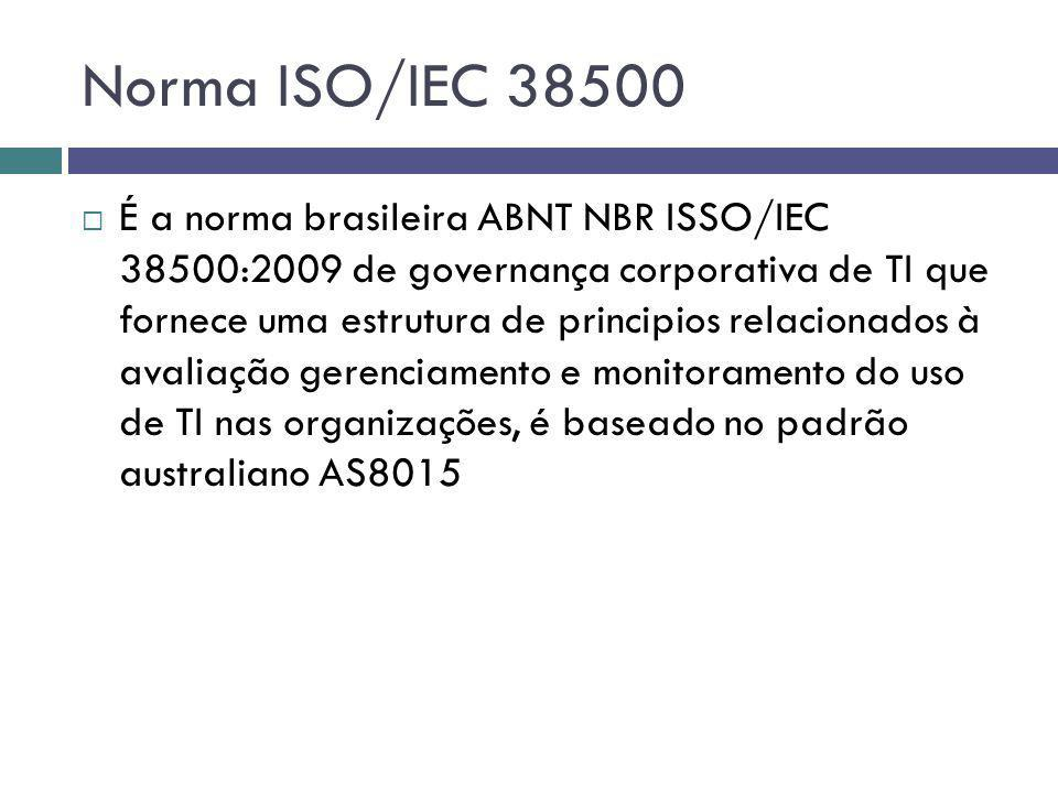 Norma ISO/IEC 38500