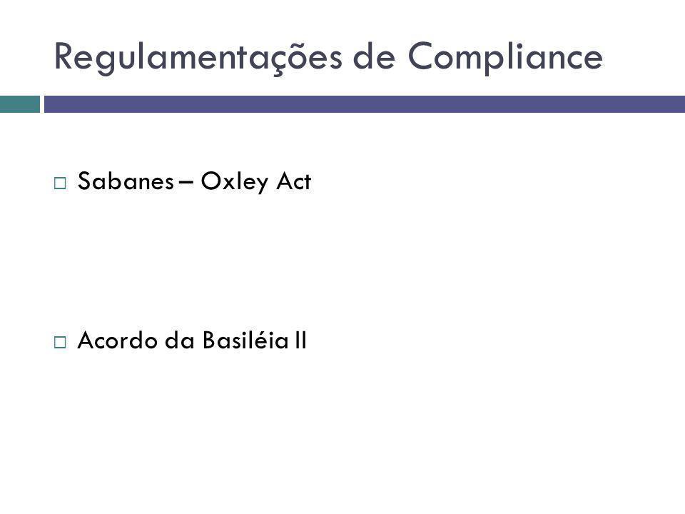 Regulamentações de Compliance