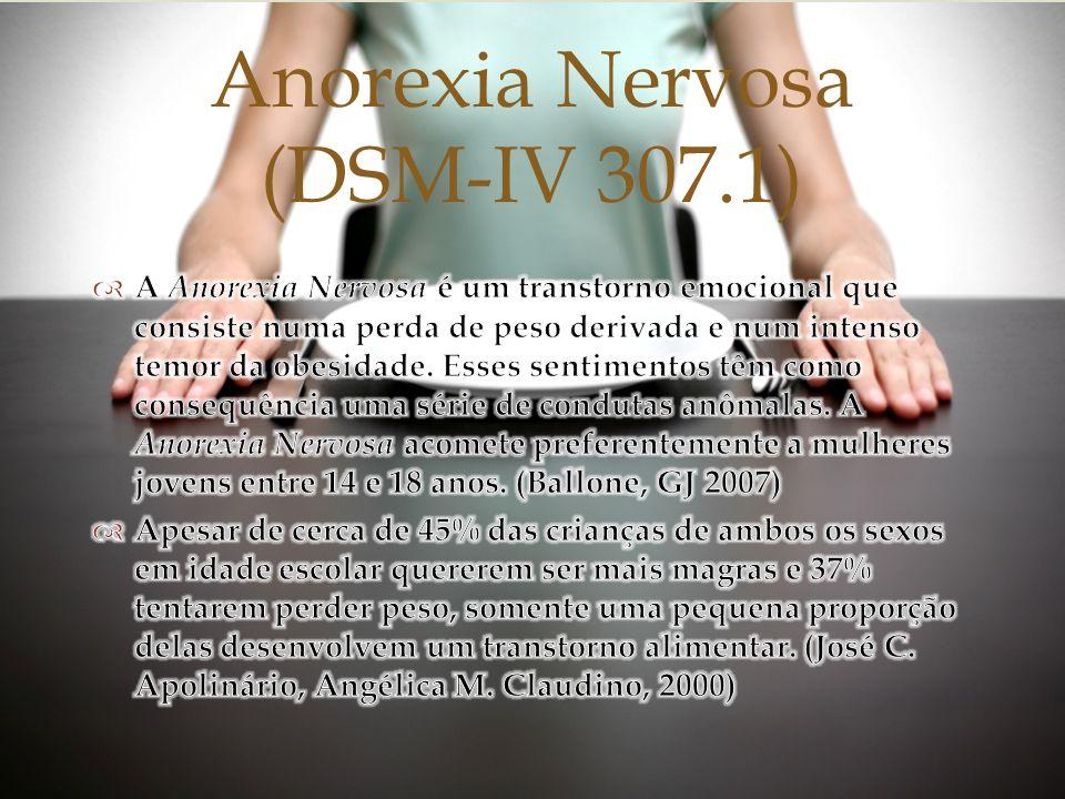 Anorexia Nervosa (DSM-IV 307.1)