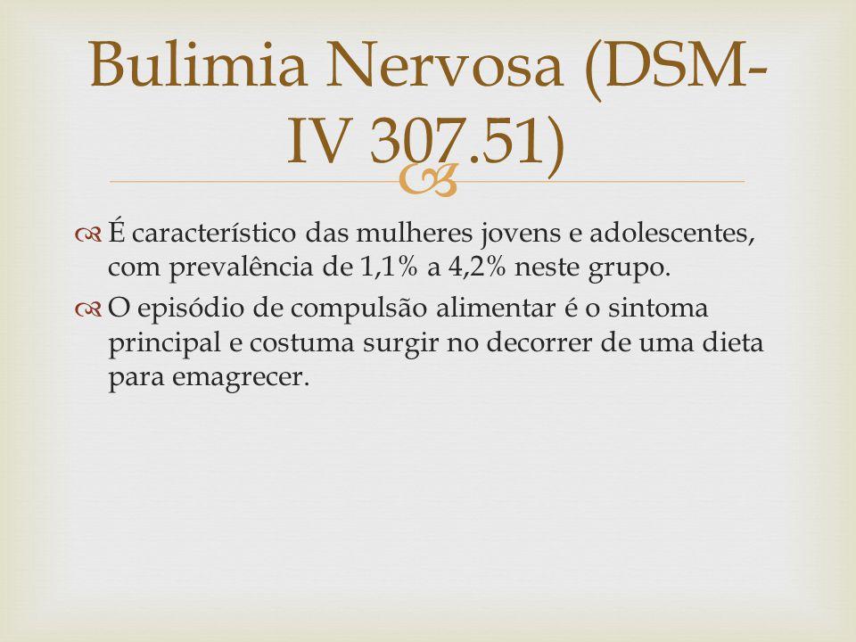 Bulimia Nervosa (DSM-IV 307.51)