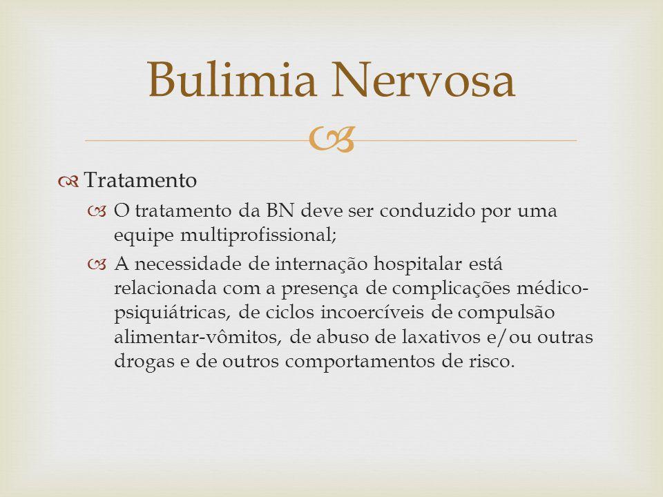 Bulimia Nervosa Tratamento