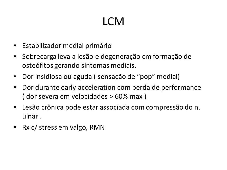 LCM Estabilizador medial primário