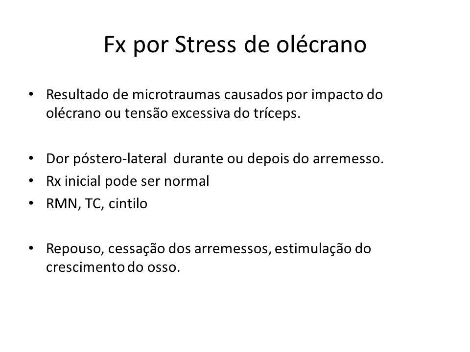 Fx por Stress de olécrano
