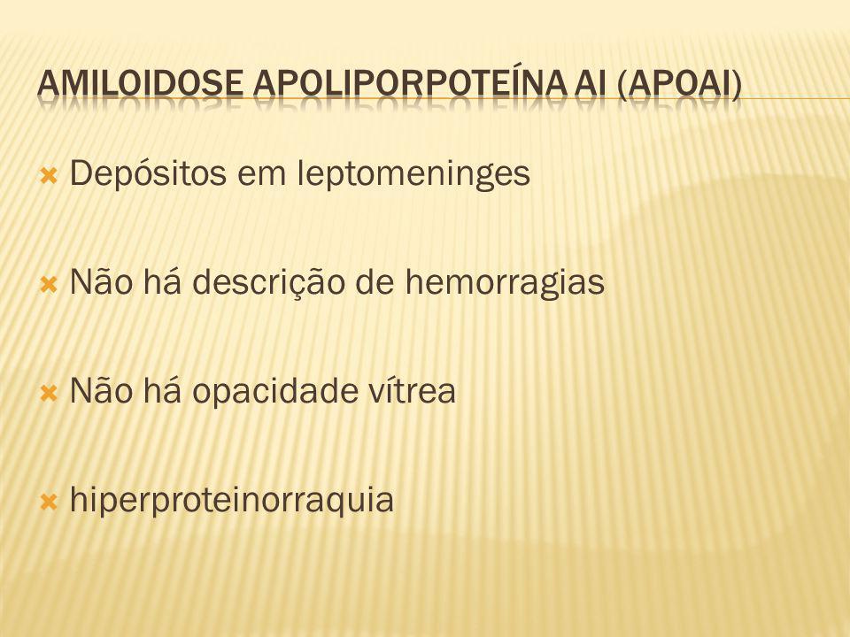 Amiloidose apoliporpoteína AI (ApoAI)