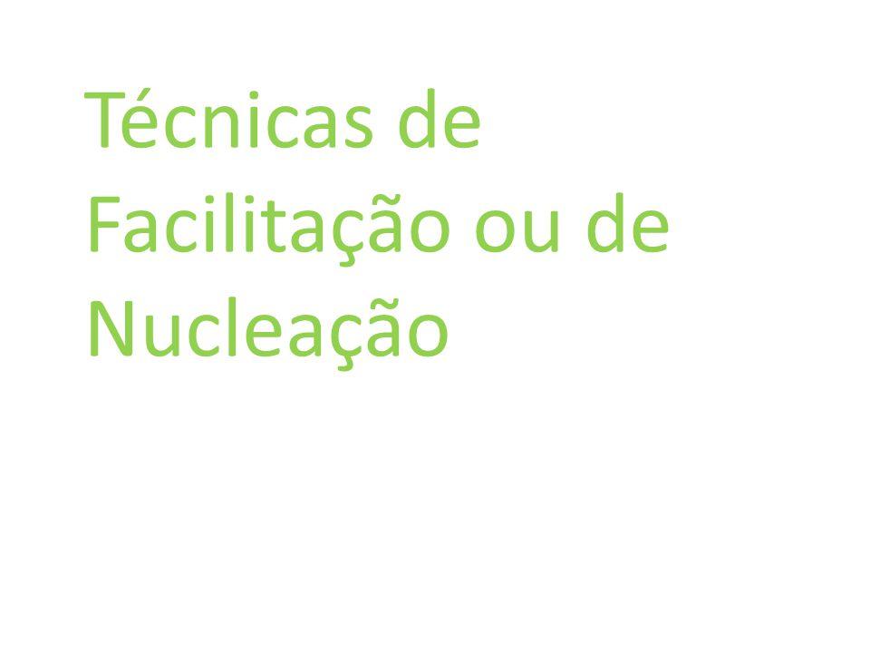 Técnicas de Facilitação ou de Nucleação