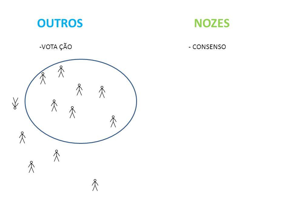 OUTROS NOZES -VOTA ÇÃO - CONSENSO