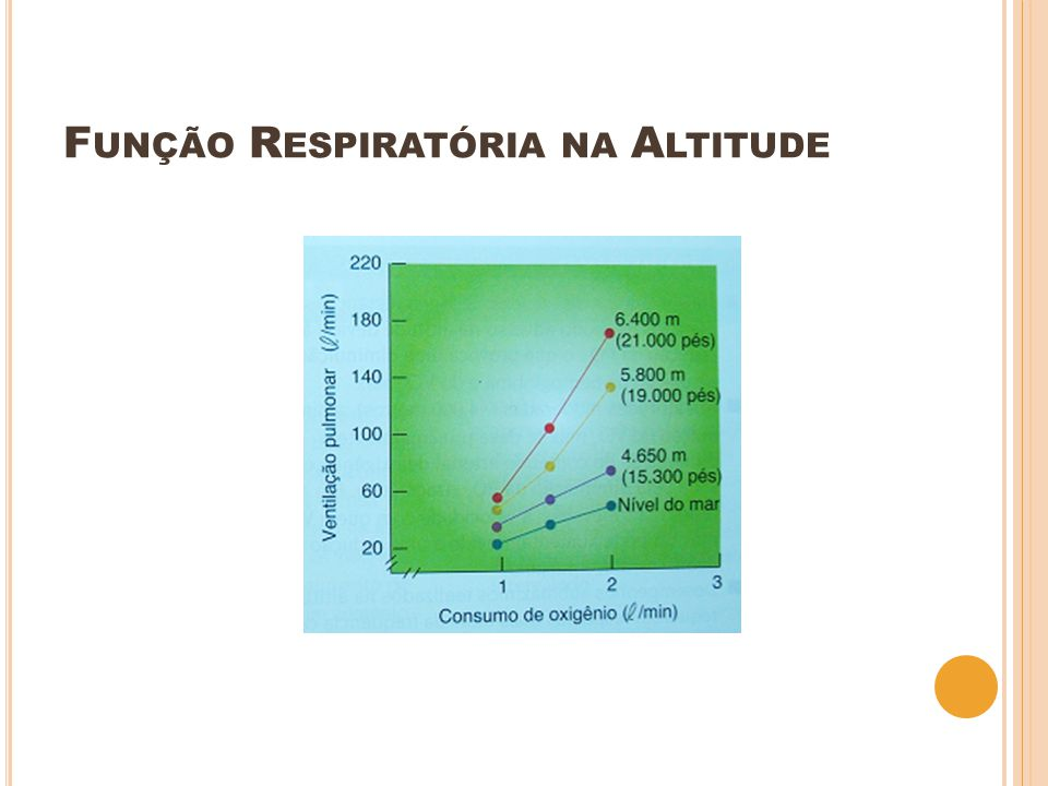 Função Respiratória na Altitude