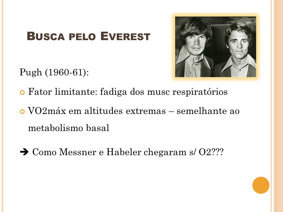 Busca pelo Everest Pugh (1960-61):