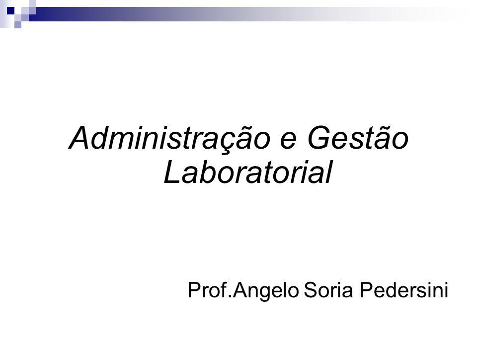 Administração e Gestão Laboratorial