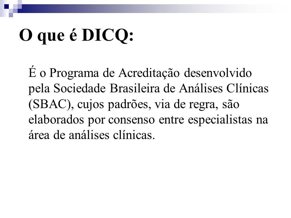 O que é DICQ:
