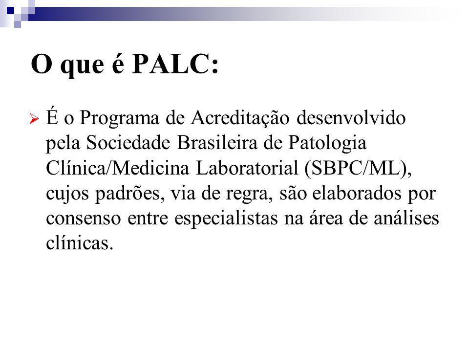 O que é PALC: